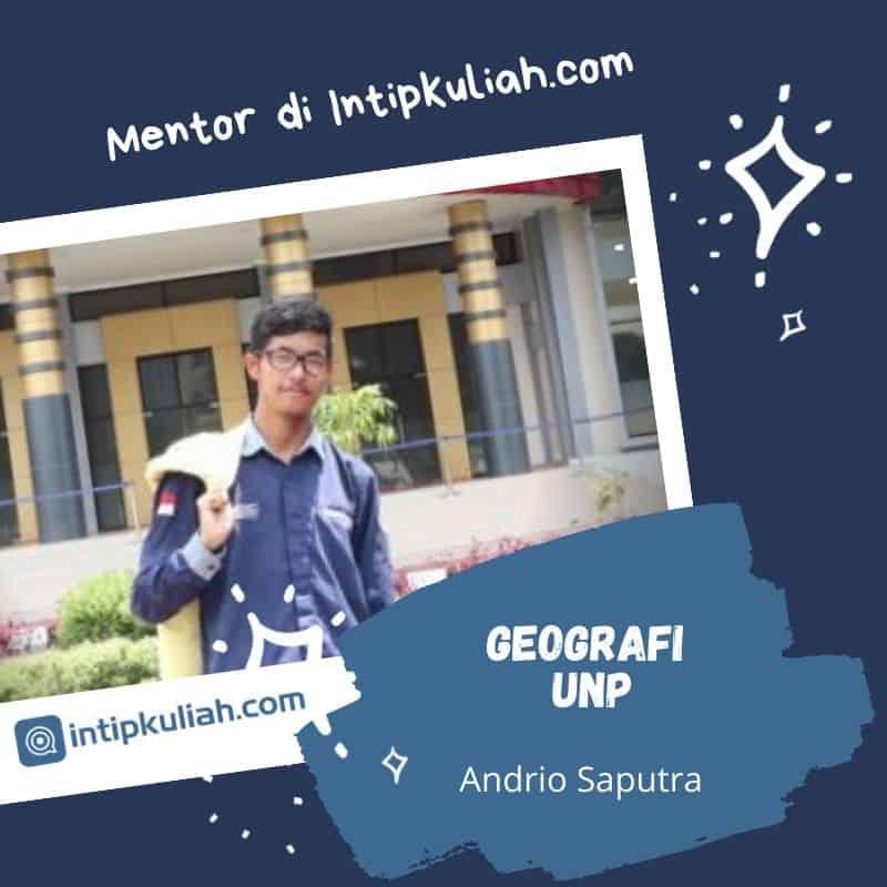 Geografi Universitas Negeri Padang (Andrio)