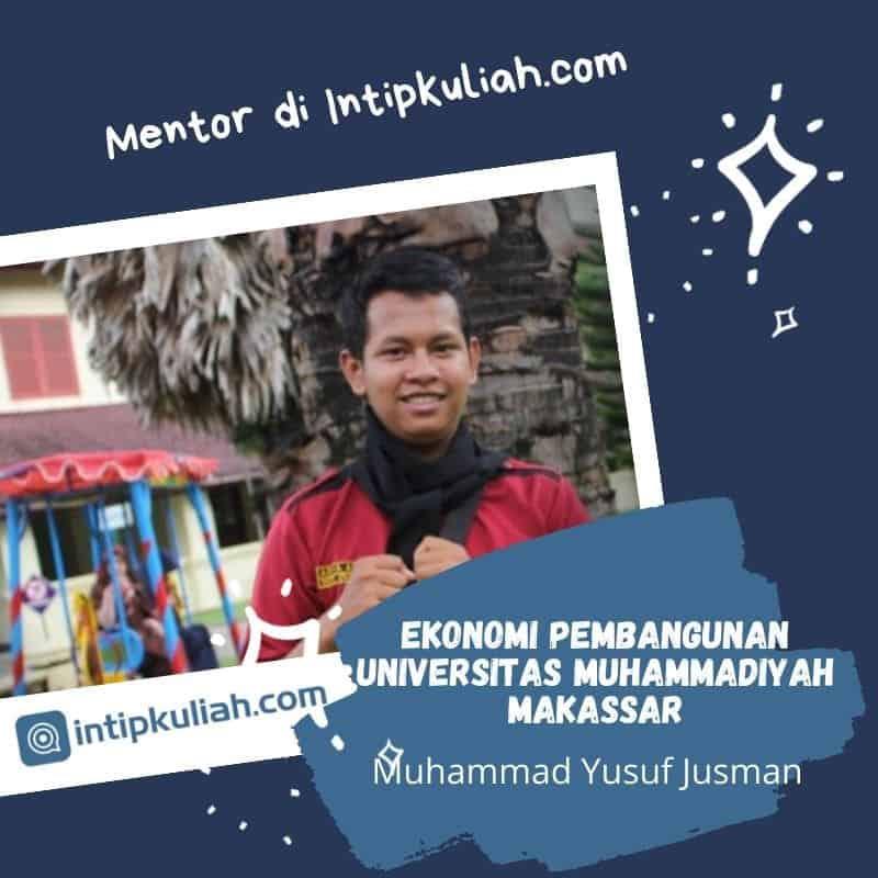 Ekonomi Pembangunan Universitas Muhammadiyah Makassar (Yusuf)