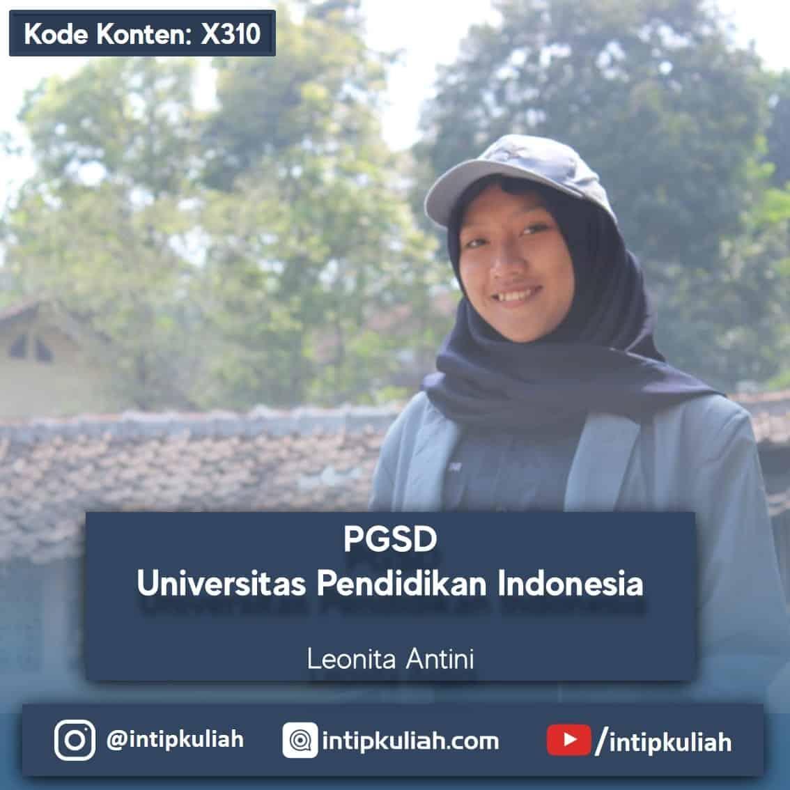 PGSD UPI (Leonita)