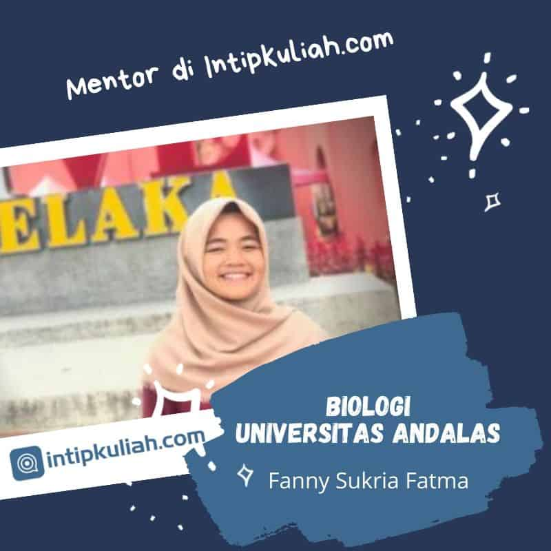 Biologi Universitas Andalas (Fanny)