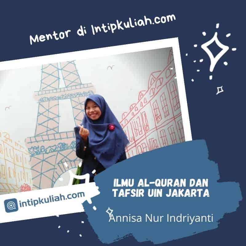 Ilmu Al Quran dan Tafsir UIN Jakarta (Annisa)