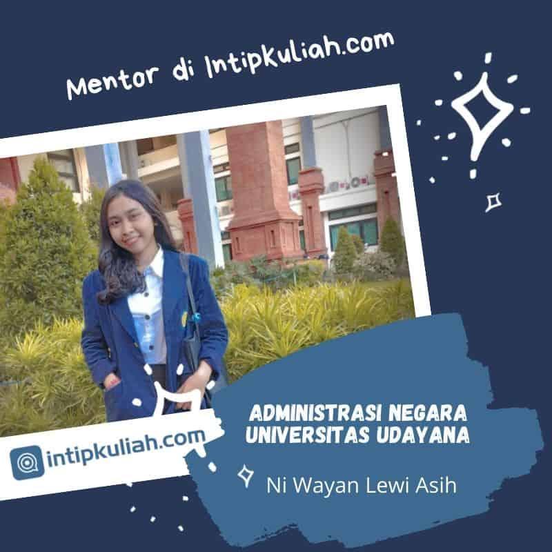 Administrasi Negara Universitas Udayana (Lewi)