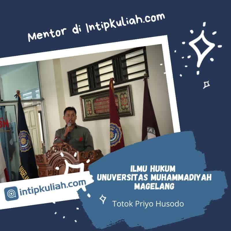 Hukum Universitas Muhamamdiyah Magelang (Totok)