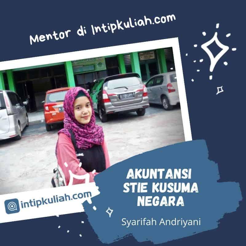 Akuntansi STIE Kusuma Negara (Syarifah)
