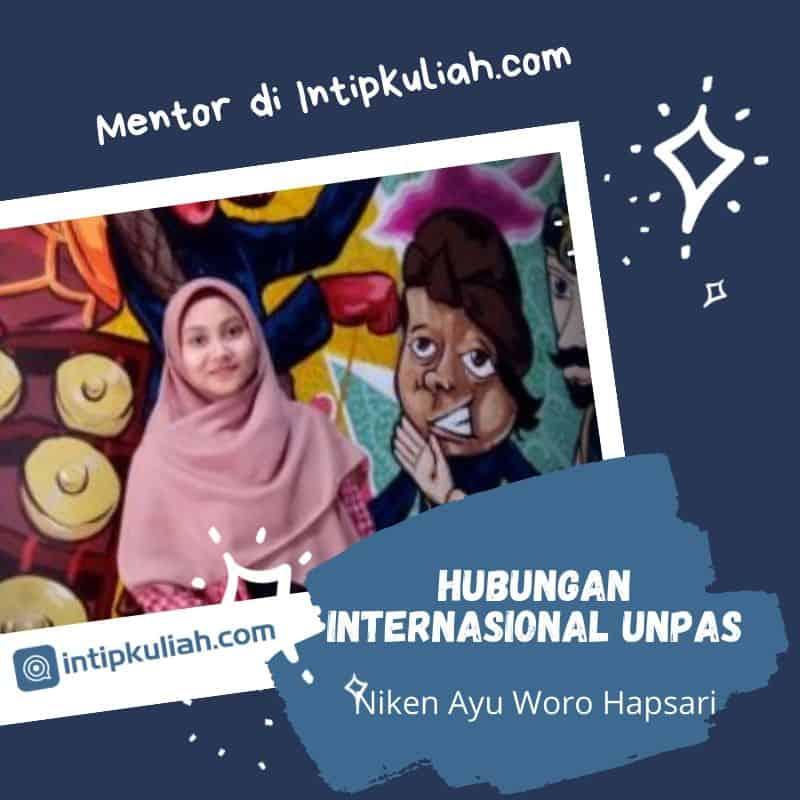 Hubungan Internasional Unpas (Niken)