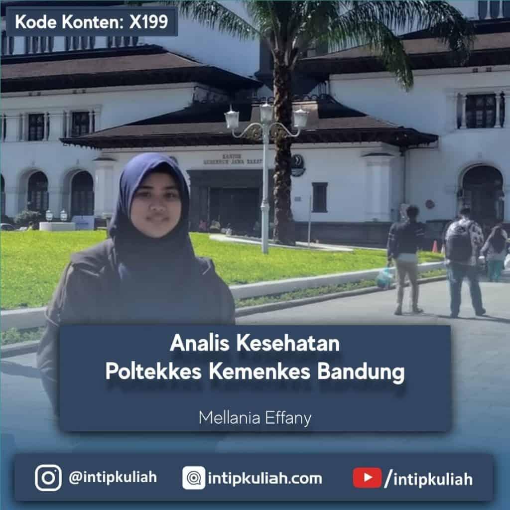 Analis Kesehatan Poltekkes Kemenkes Bandung (Mellania)