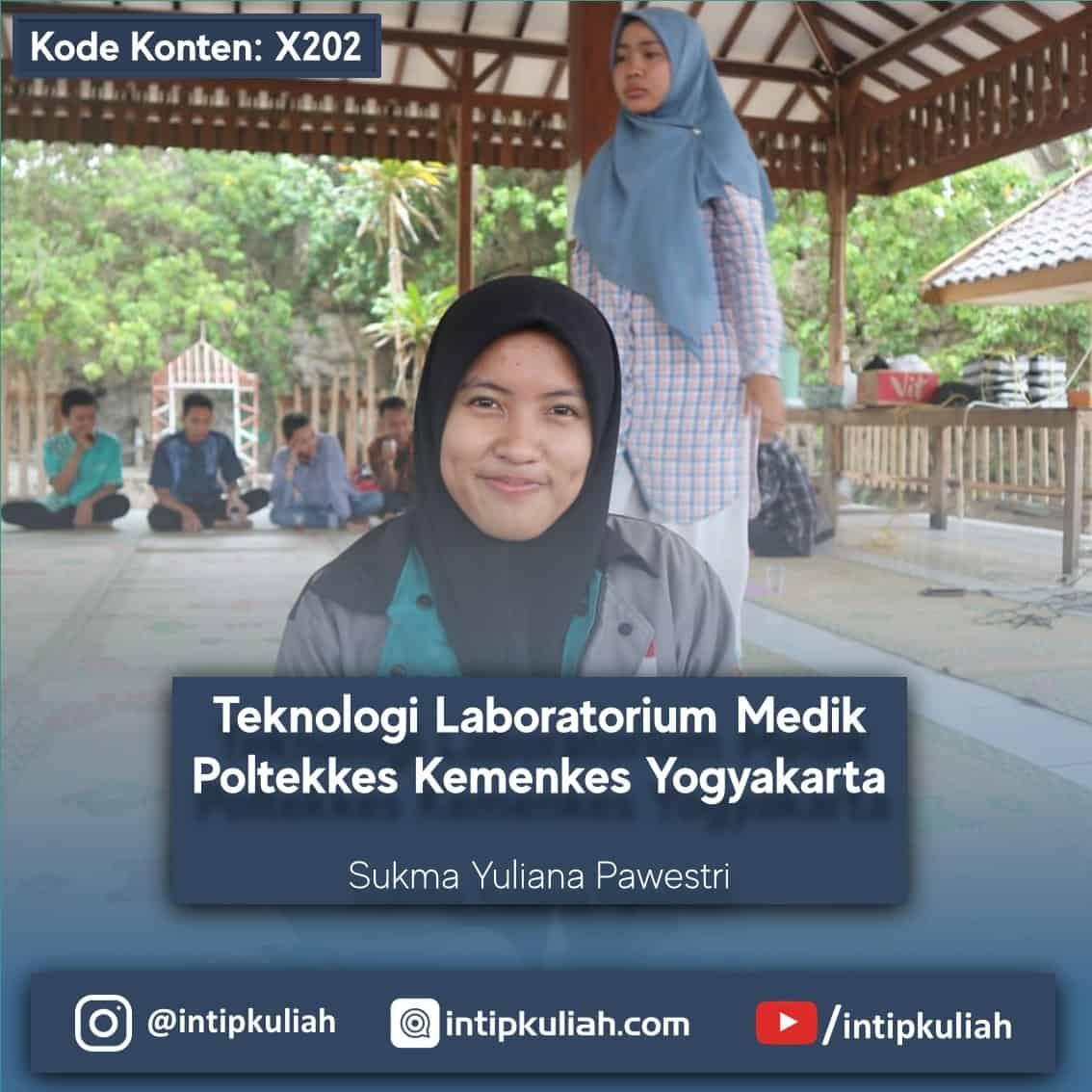 Analis Kesehatan Poltekkes Kemenkes Yogyakarta (Sukma)