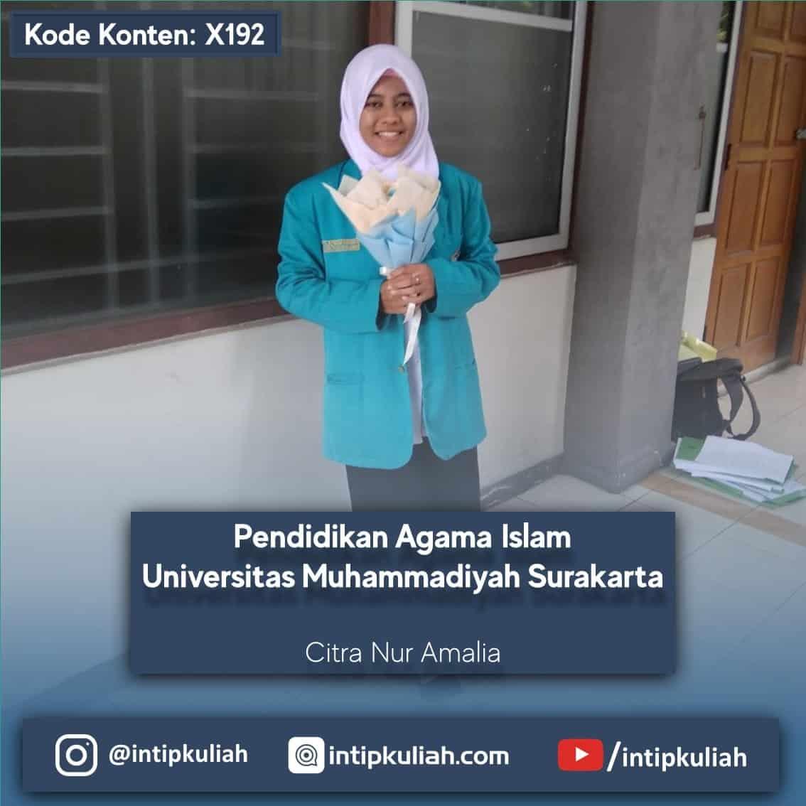 Pendidikan Agama Islam / PAI UMS (Citra)