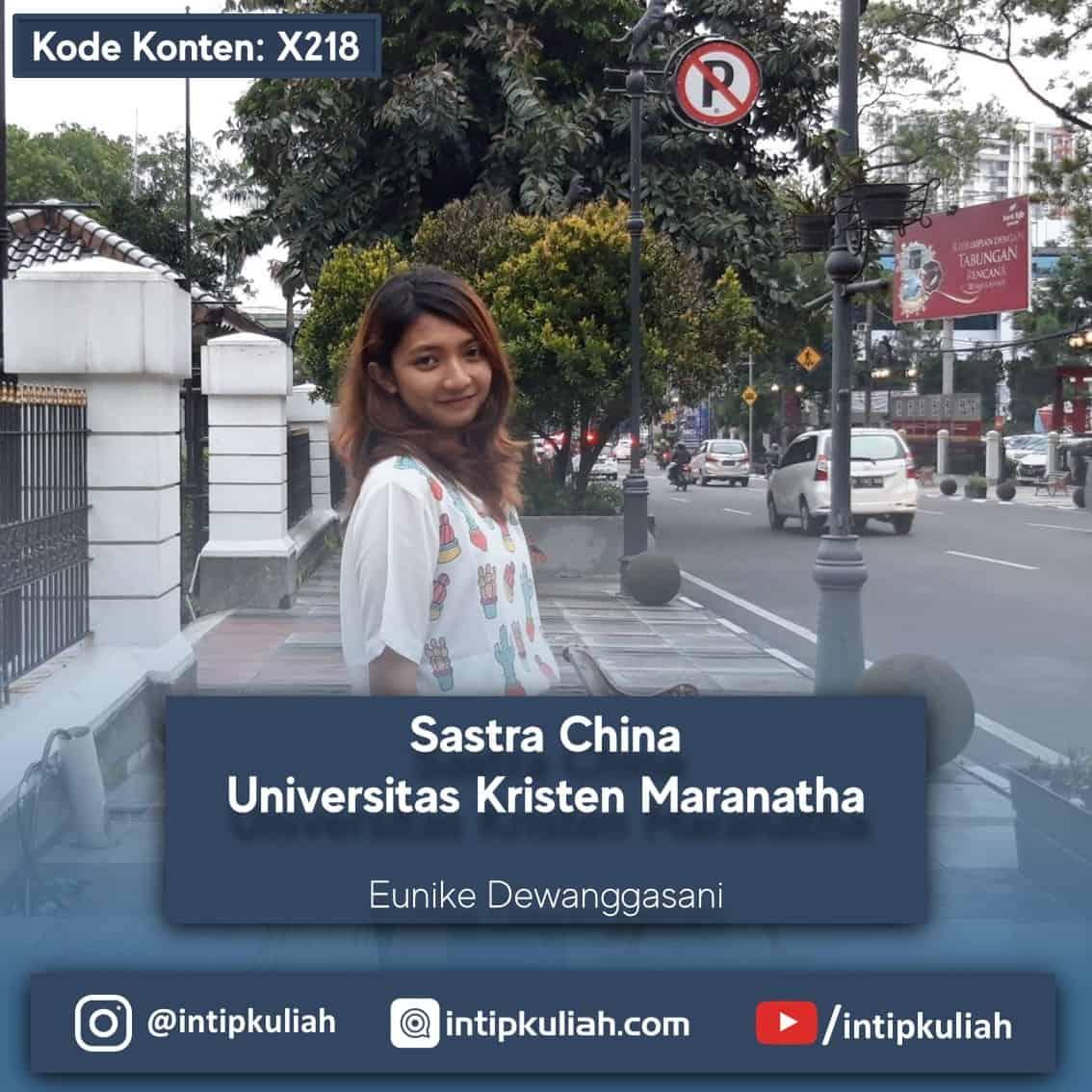 Sastra China Universitas Kristen Maranatha (Angga)