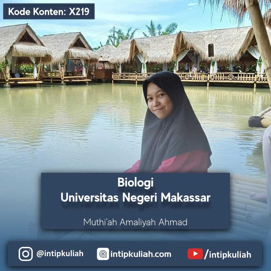 Pendidikan Biologi Universitas Negeri Makassar (Muthiah)