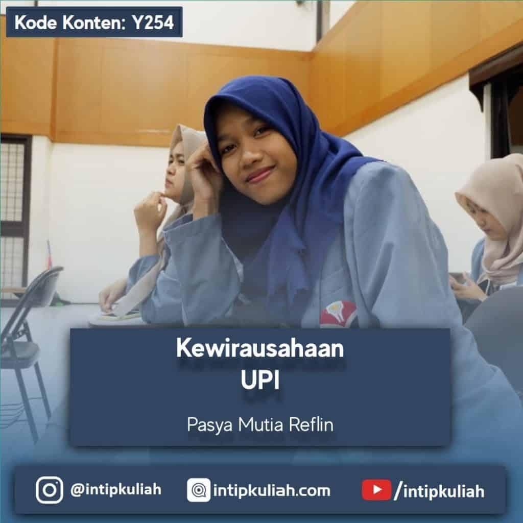 Kewirausahaan UPI (Pasya)