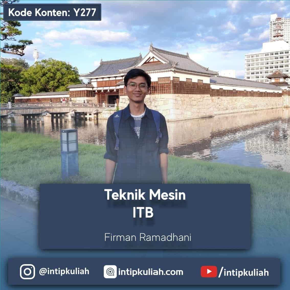 Teknik Mesin ITB (Firman)