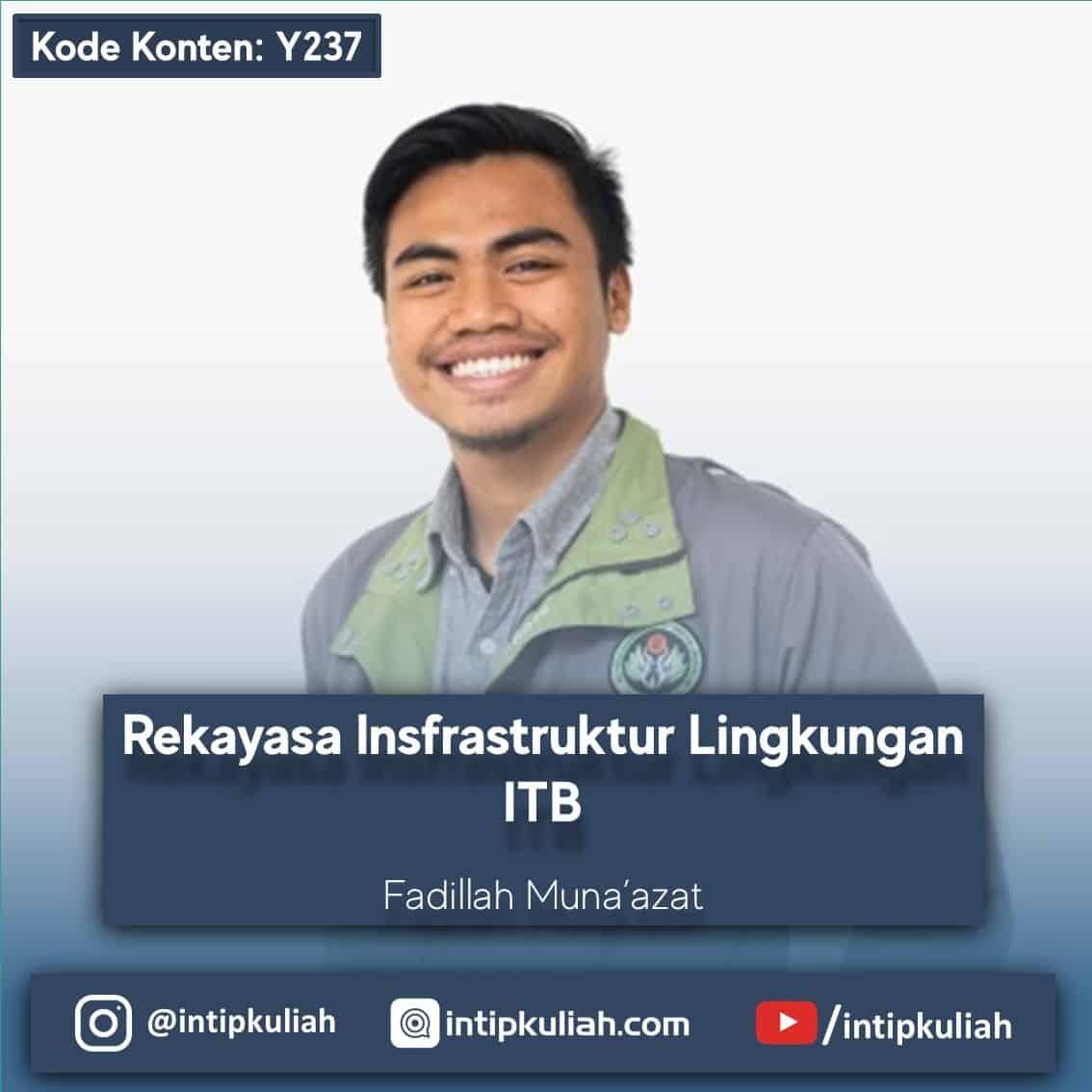 Rekayasa Infrastruktur Lingkungan ITB (Fadillah)