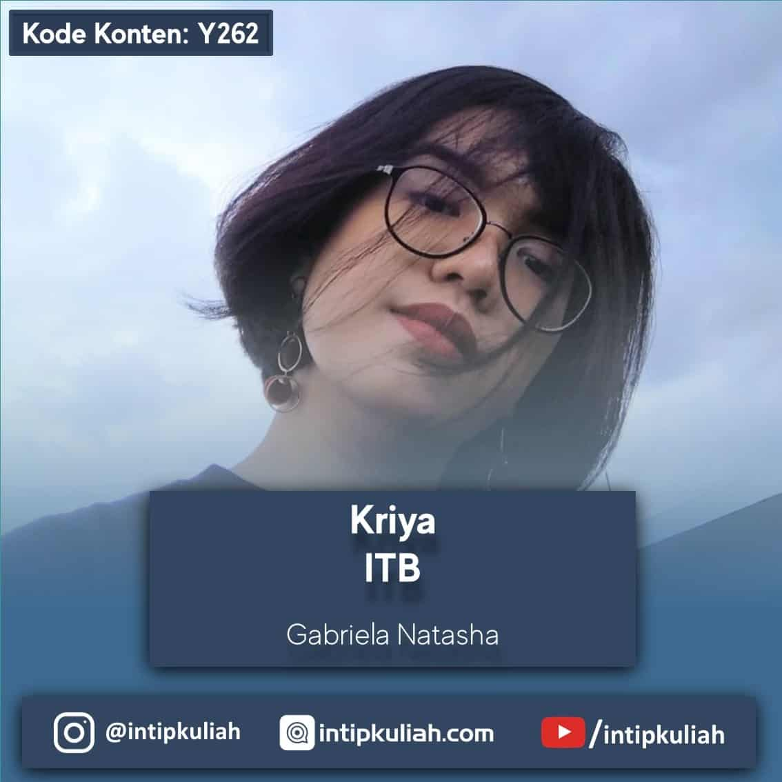 Kriya ITB (Gabriela)
