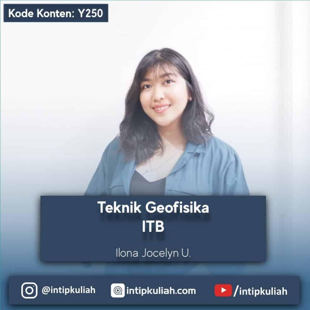 Teknik Geofisika ITB (Ilona)