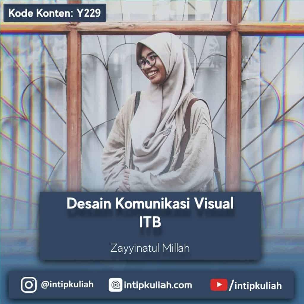 DKV ITB (Desain Komunikasi Visual) (Zayyinatul)