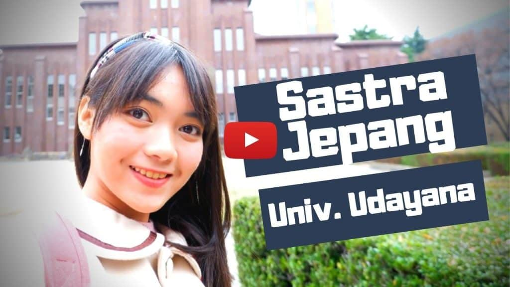 sastra jepang universitas udayana