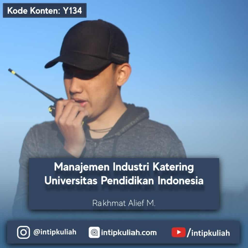 Manajemen Industri Katering UPI (Rakhmat)