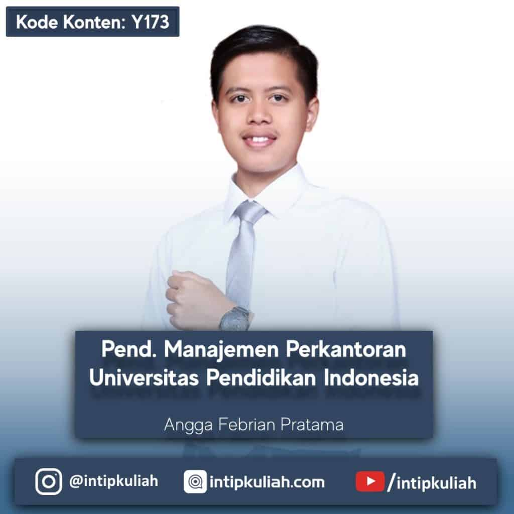 Pendidikan Manajemen Perkantoran UPI (Angga)