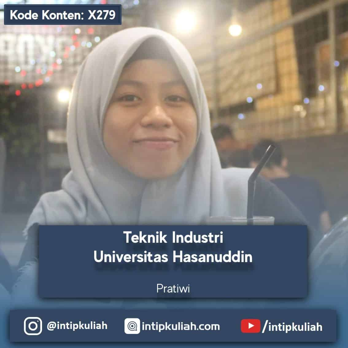 Teknik Industri Universitas Hasanuddin (Tiwi)