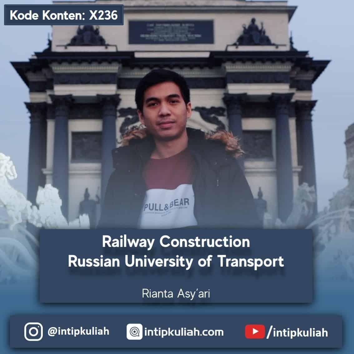 Teknik Kereta Api Russian University of Transport (Rian)