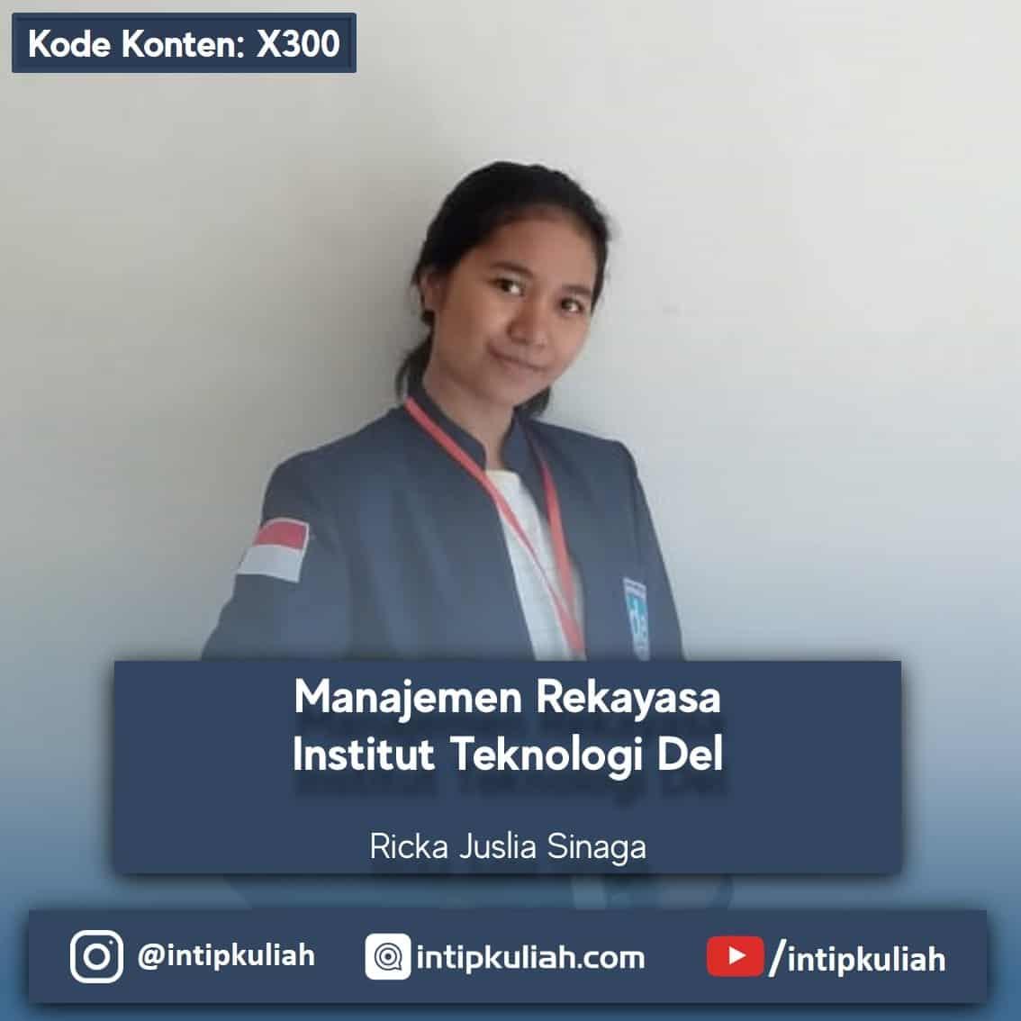 Manajemen Rekayasa IT Del / Institut Teknologi Del (Ricka)