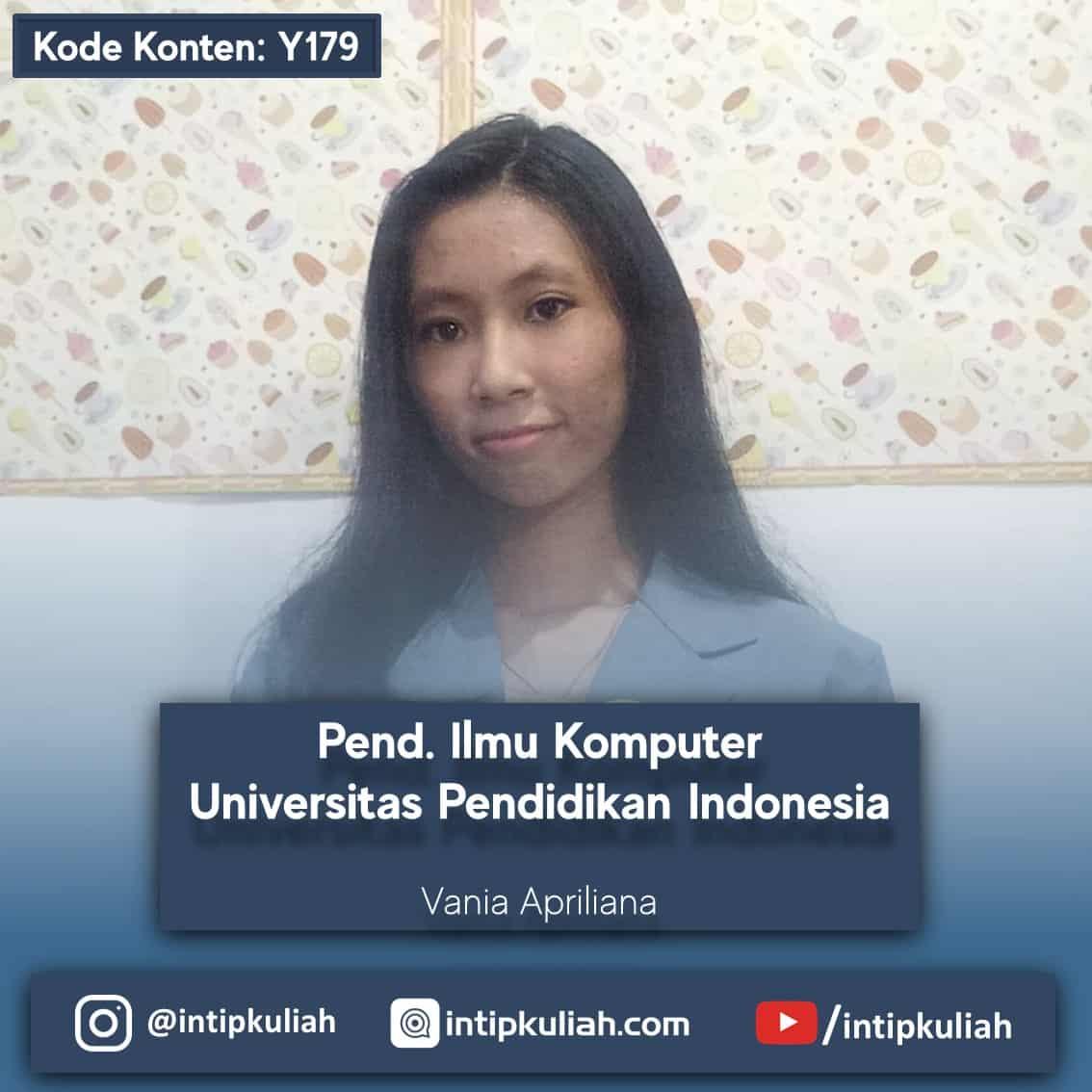 Pendidikan Ilmu Komputer UPI (Vania)