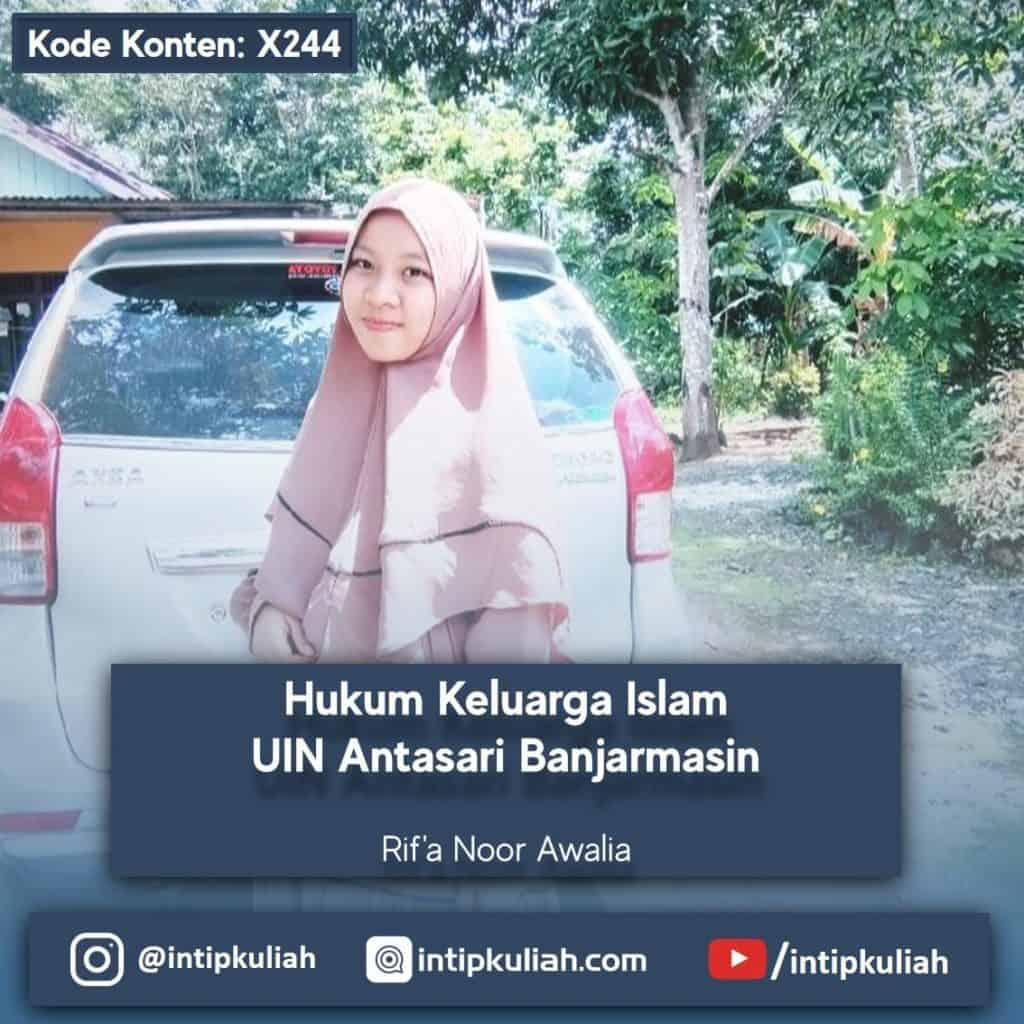 Hukum Keluarga Islam UIN Antasari Banjarmasin (Rif'a)