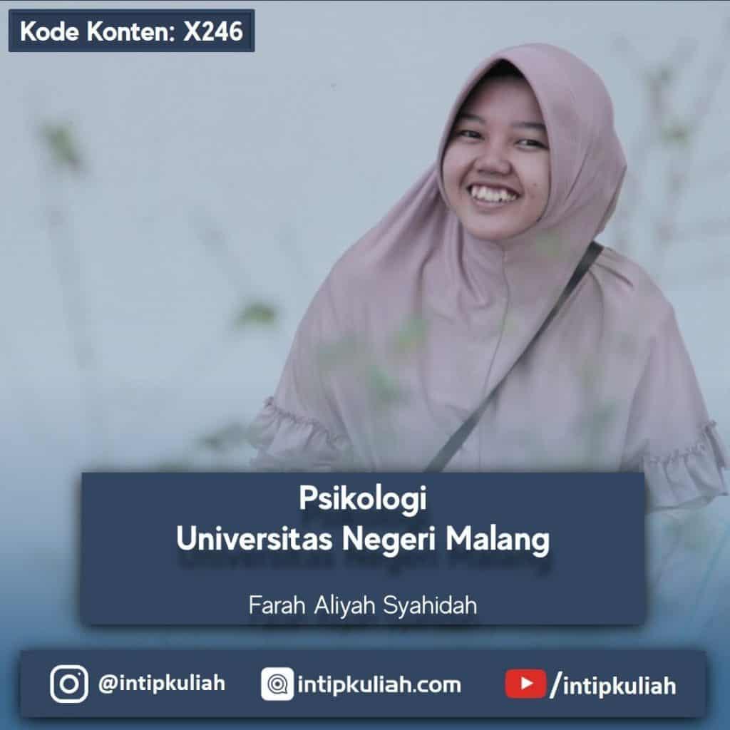 Psikologi Universitas Negeri Malang (Farah)