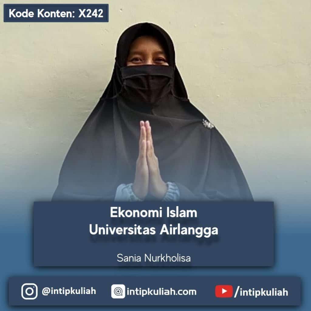 Ekonomi Islam UNAIR (Sania)