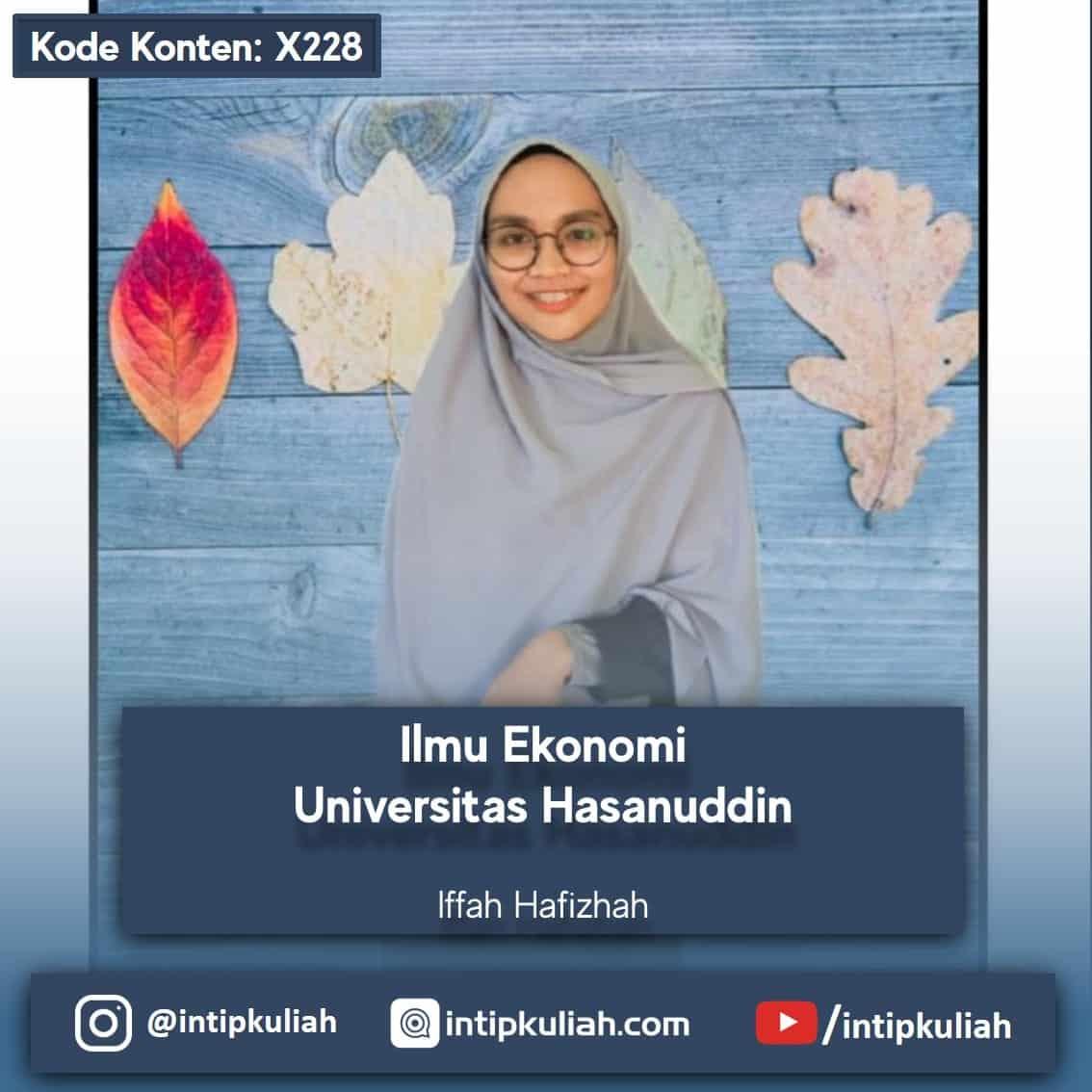Ilmu Ekonomi Universitas Hasanuddin (Iffah)