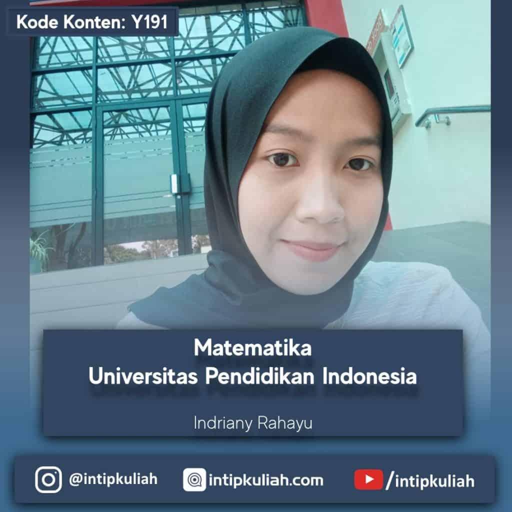 Matematika UPI (Indriany)