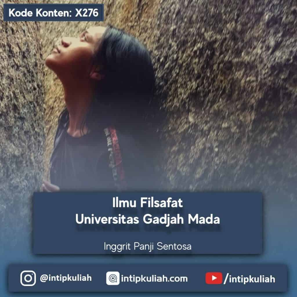 Ilmu Filsafat UGM (Inggrit)