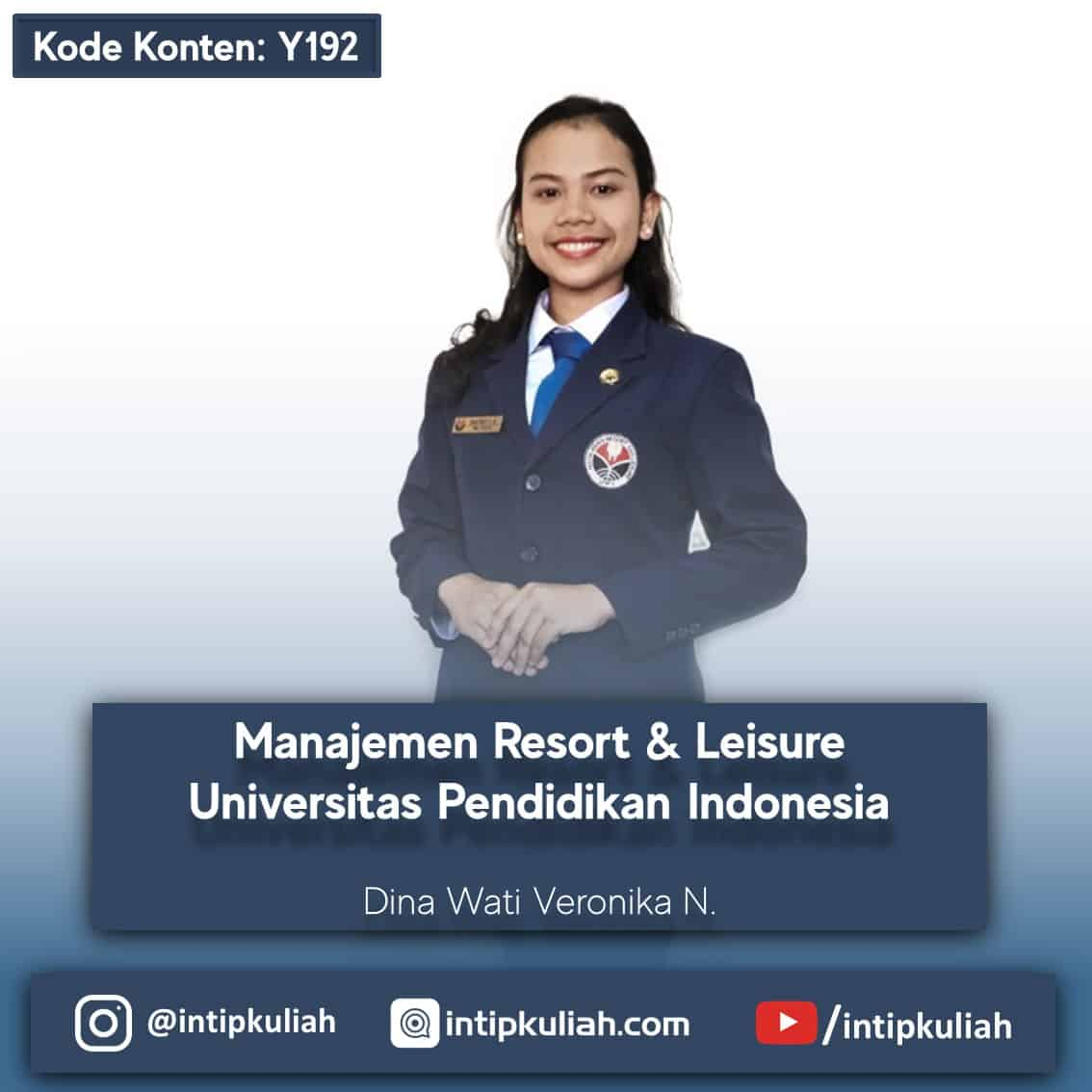 Manajemen Resort and Leisure UPI / MRL UPI (Dina)
