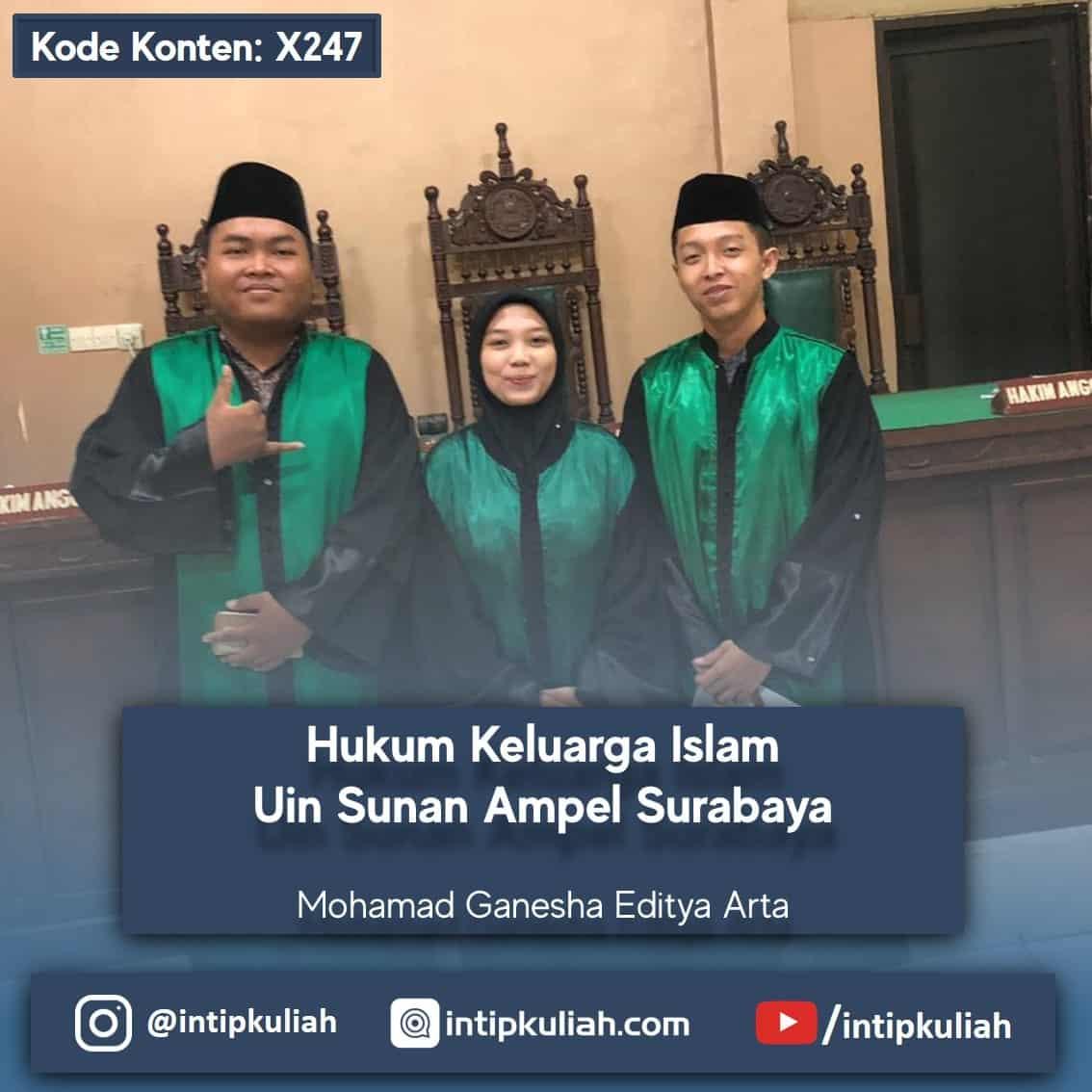 Hukum Keluarga Islam UIN Sunan Ampel Surabaya (Ganesha)