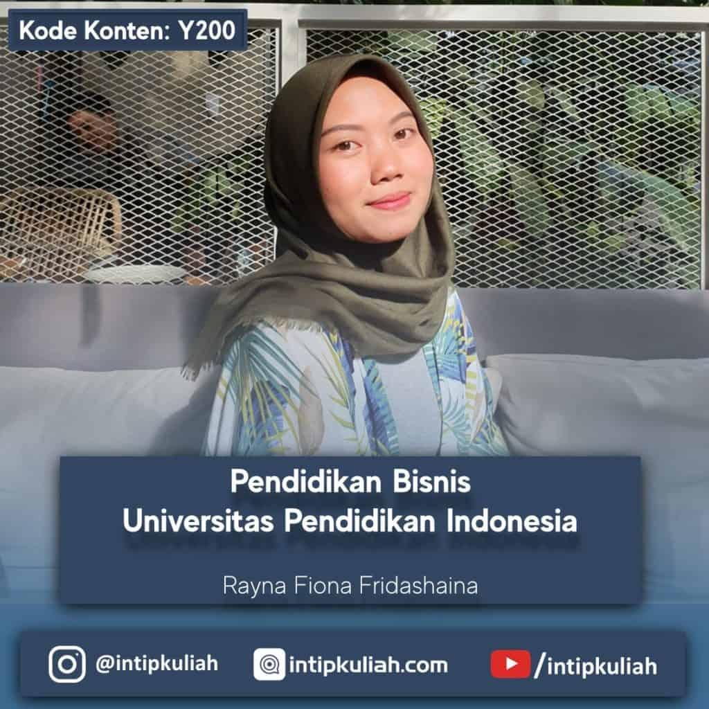 Pendidikan Bisnis UPI (Rayna)