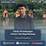 Teknik Pertambangan Institut Teknologi Bandung / ITB (Hanif)