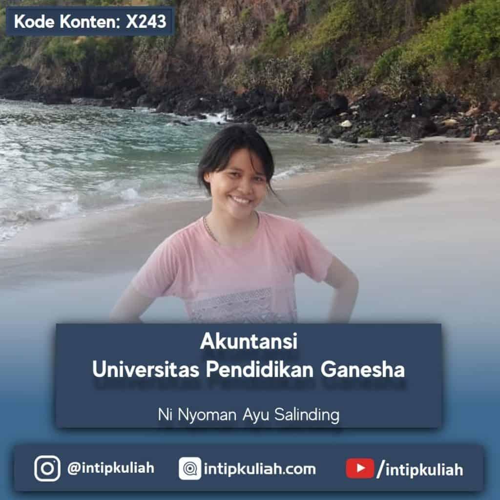 Akuntansi Undiksha /  Univesitas Pendidikan Ganesha (Ayu)