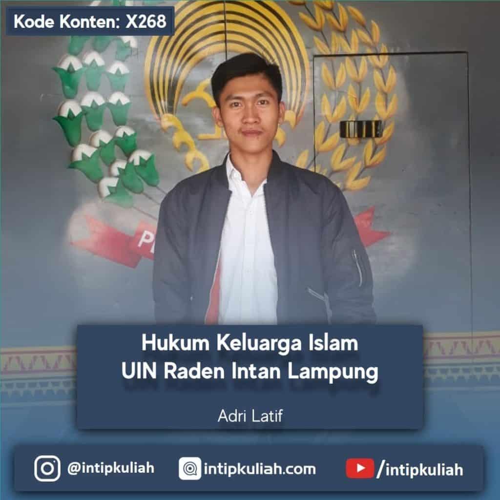 Hukum Keluarga Islam UIN Lampung (Adri)