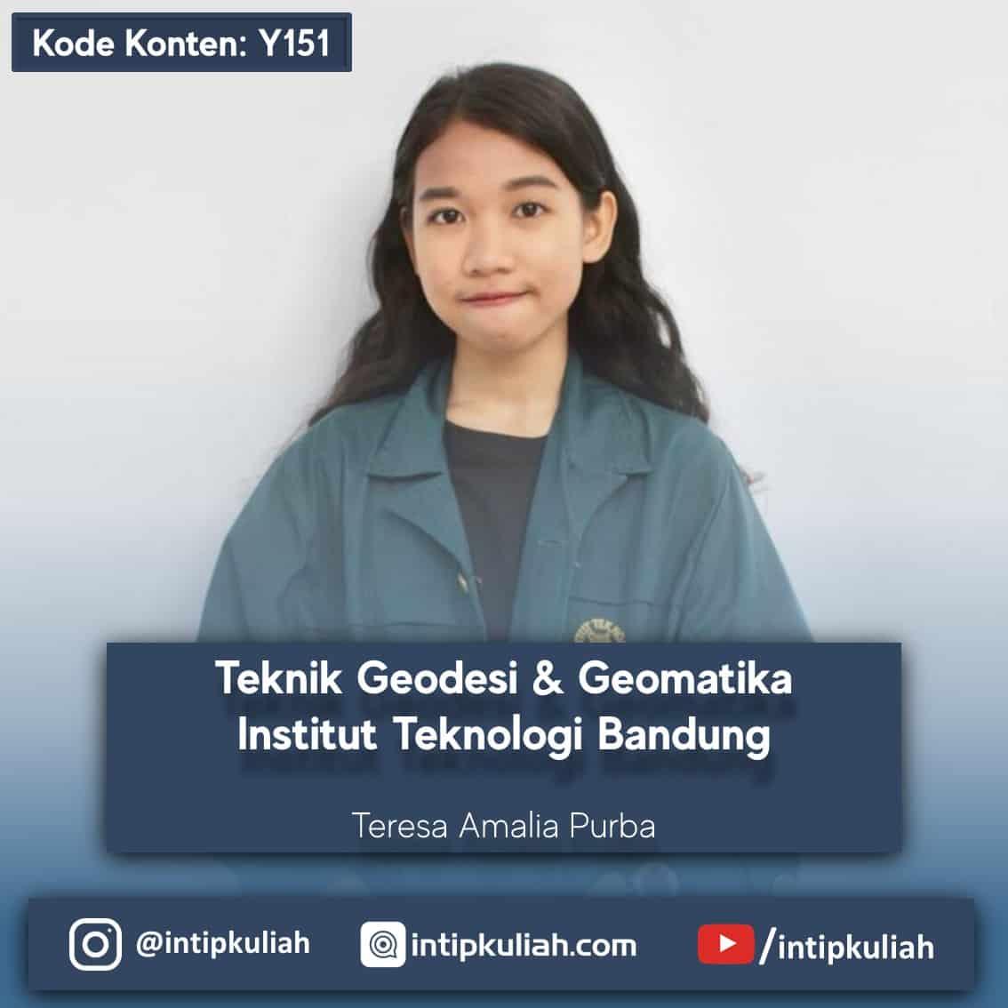 Teknik Geodesi dan Geomatika ITB (Teresa)