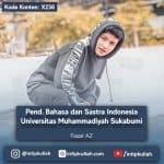 Pendidikan Bahasa dan Sastra Indonesia Universitas Muhammadiyah Sukabumi (Faisal)