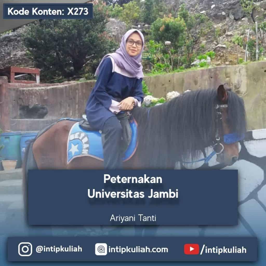 Peternakan Universitas Jambi (Tanti)
