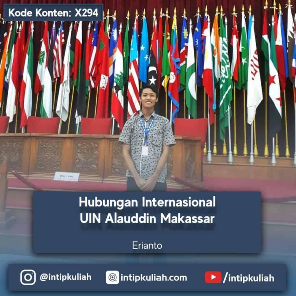 Hubungan Internasional UIN Alauddin Makassar (Erianto)