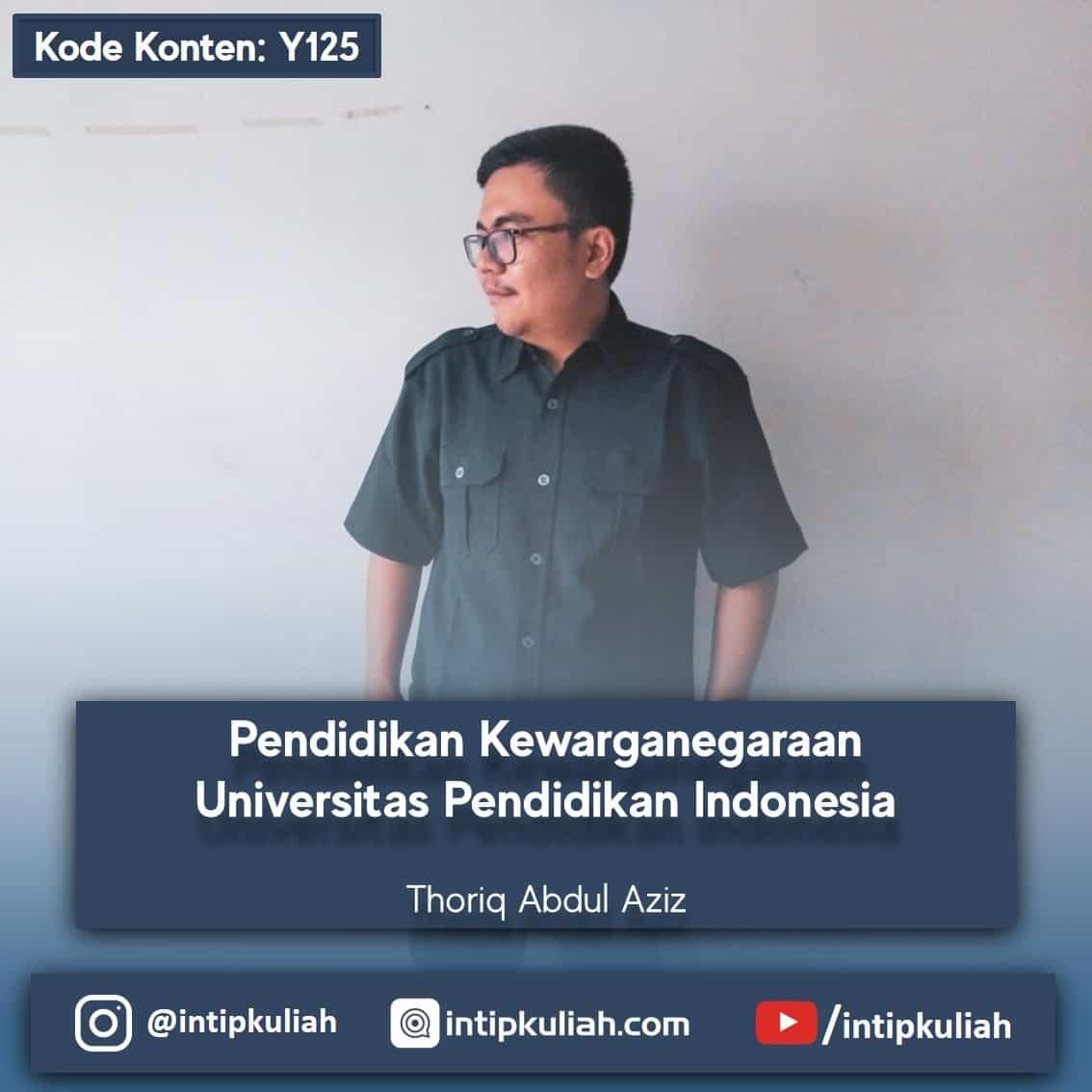 Pendidikan Kewarganegaraan UPI (Thoriq)