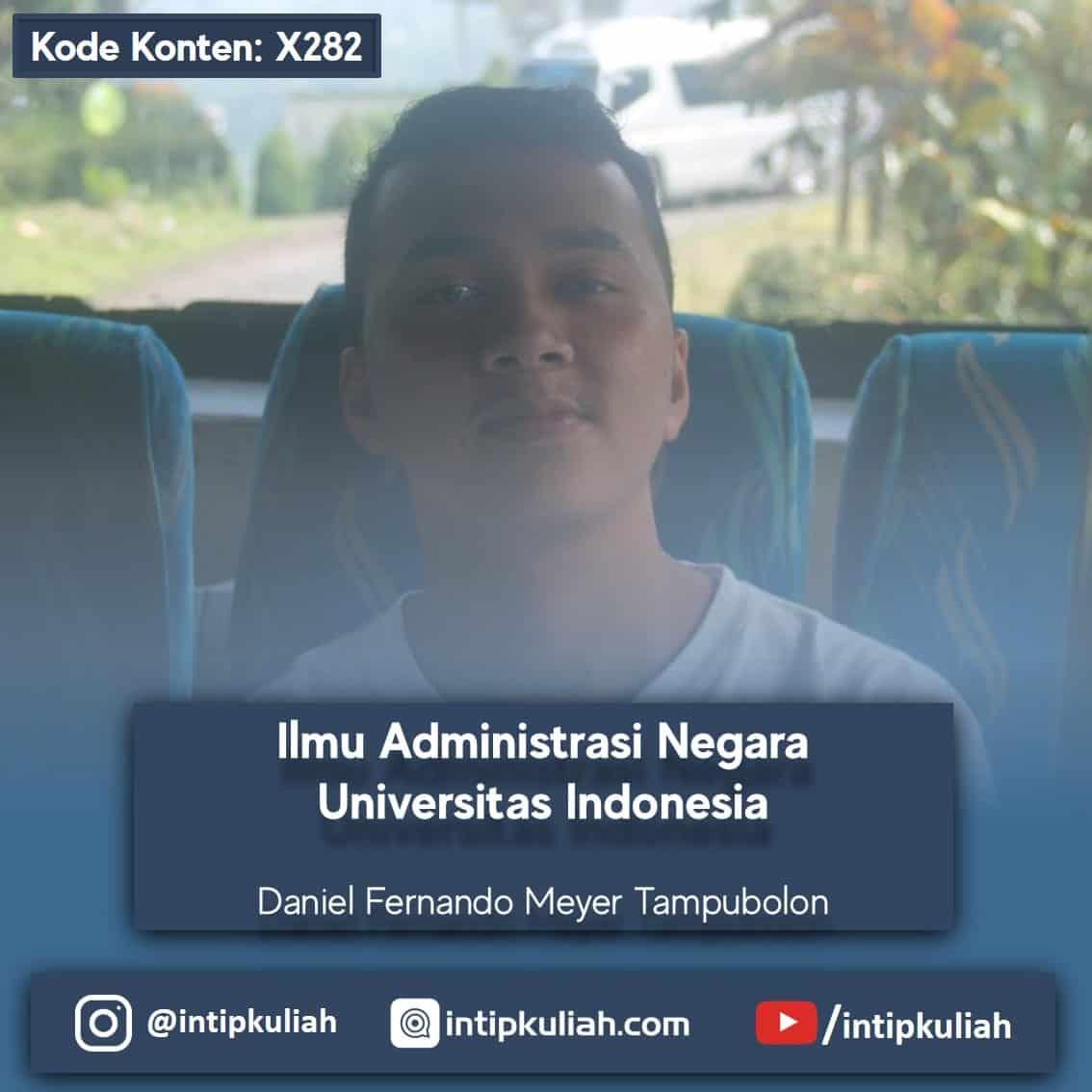 Ilmu Administrasi Negara UI (Daniel)
