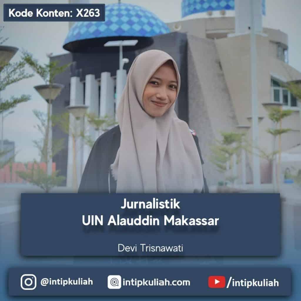 Jurnalistik UINAM / UIN Alauddin Makassar (Devi)