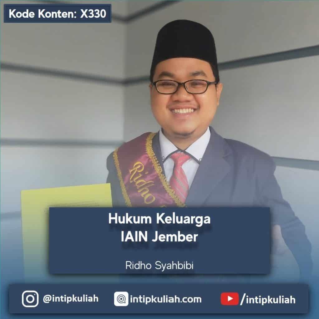 Hukum Keluarga IAIN Jember (Ridho)