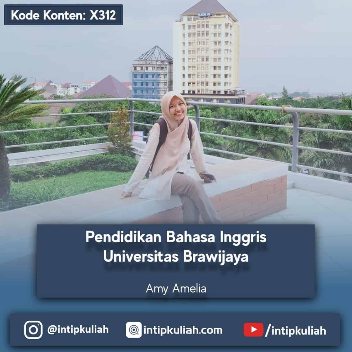 Pendidikan Bahasa Inggris Universitas Brawijaya (Amy)