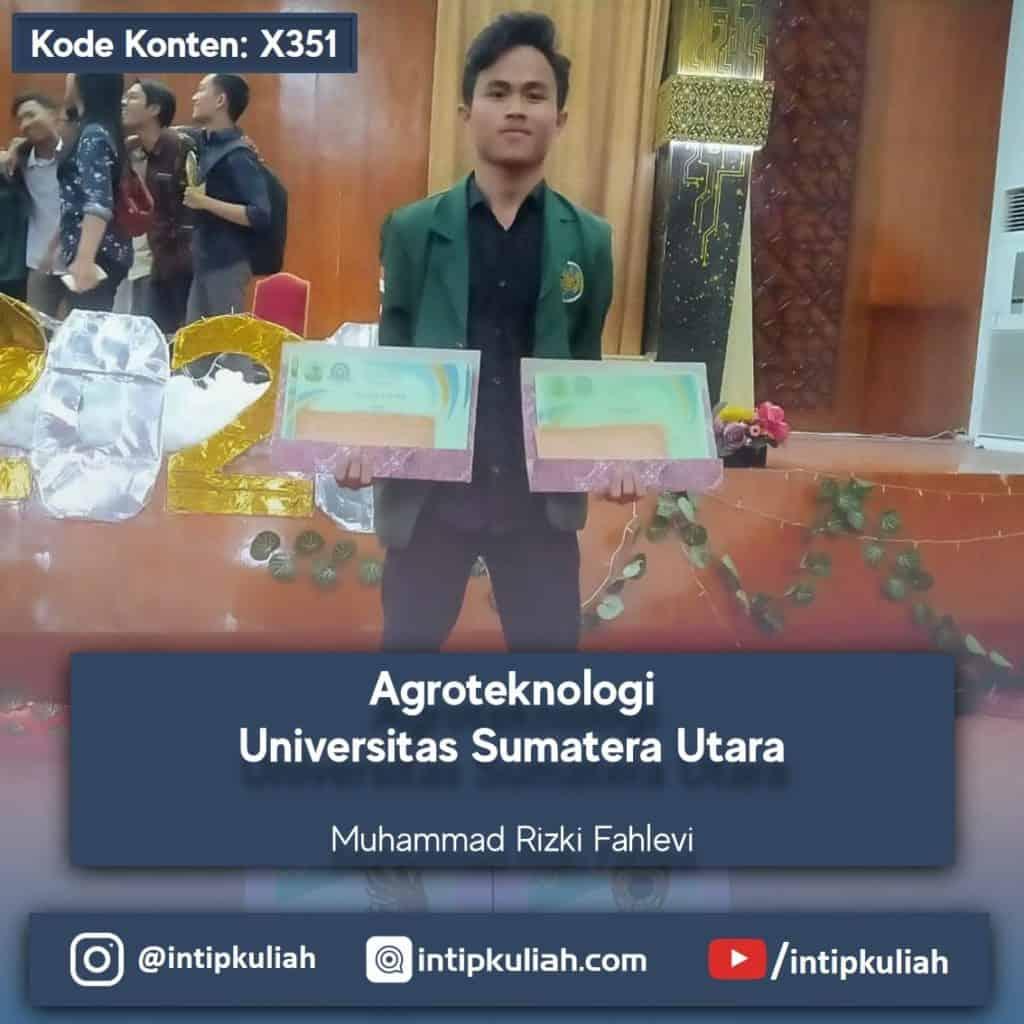 Agroteknologi Universitas Sumatera Utara (Fahlevi)