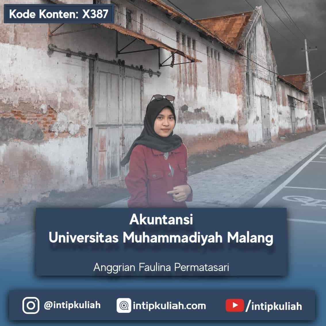 Akuntansi Universitas Muhammadiyah Malang (Anggrian)
